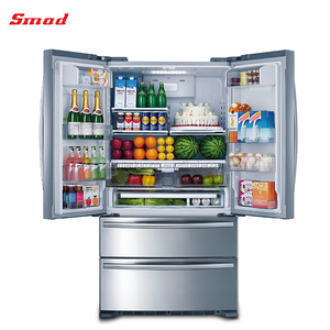 Thorkitchen 4-door French Door Refrigerator With Infinity Slide Shelf In Stainless Steel