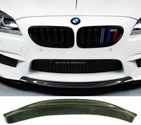 Real Carbon Fiber Front Lip Spoiler For BMW 6-Series F12 F13 F06 M6 Model 2013UP B245
