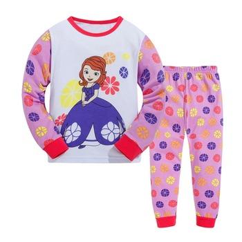980c5b25cd26d new style fashion kids cotton pajama sets Customized childrens sleepwear  boutique pajamas for kids