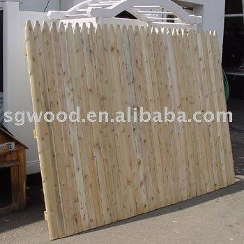 pas cher unique pratique stockade cl ture en bois pour gros buy product on. Black Bedroom Furniture Sets. Home Design Ideas