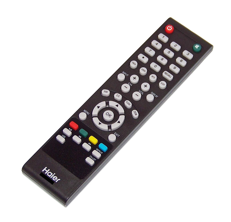 OEM Haier Remote Control Originally Shipped With: 24E2000, 24E2000A