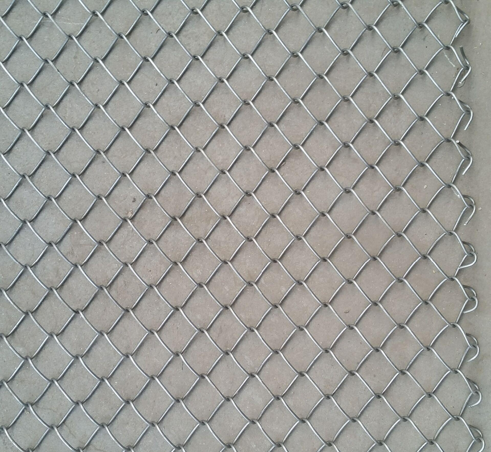50x50mm Hot Dipped Galvanized Chain Link Fence / Factory Price ...