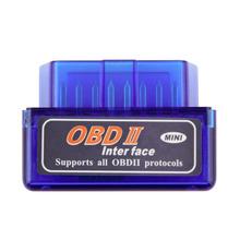 Newest Super Mini V2.1 ELM327 OBD2 ELM 327 Bluetooth Interface Auto Car Scanner Diagnostic Tool#