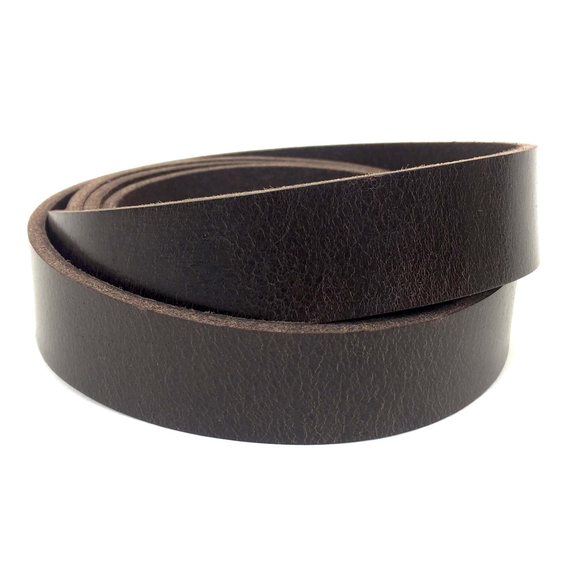 "Springfield Leather Company's Buffalo Leather Strips (1"", Brown)"