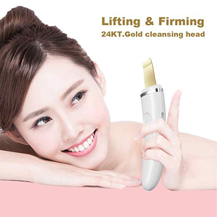 Portable Professional Facial Peeling Beauty Skin Scrubber Cleaning Machine Face Ultrasonic Skin Scrubber