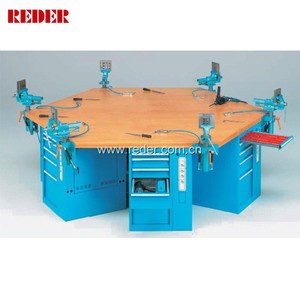 customized multifunctional hexagon workbench