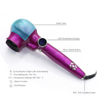 New Style Steam Hair Curlers For Big Curls