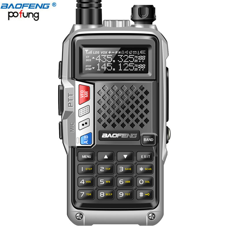 2018 BAOFENG BF-UVB3 PLUS High Power UHF/VHF Dual Band 10 km Lange Palette Thickenbattery Walkie Talkie Mehrere Lade modus