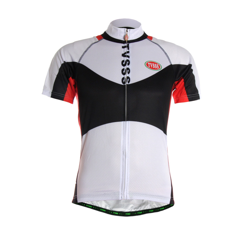 e20ef6c6c TVSSS Men s Summer  strong Cycling  strong  Shirt Simple Pattern with Black