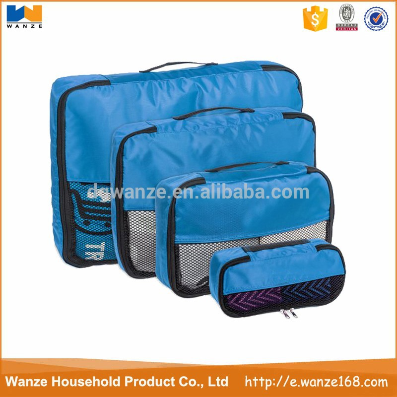 Eco-friendly Polyester Fabric Travel Cloth Storage Bag