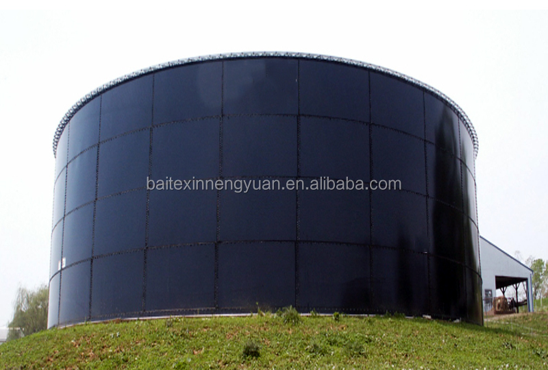 Bolted Steel receptacle reception tank /storage tank