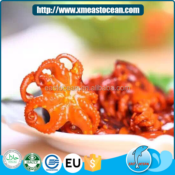 Latest delicious frozen seasoned baby octopus with sesame