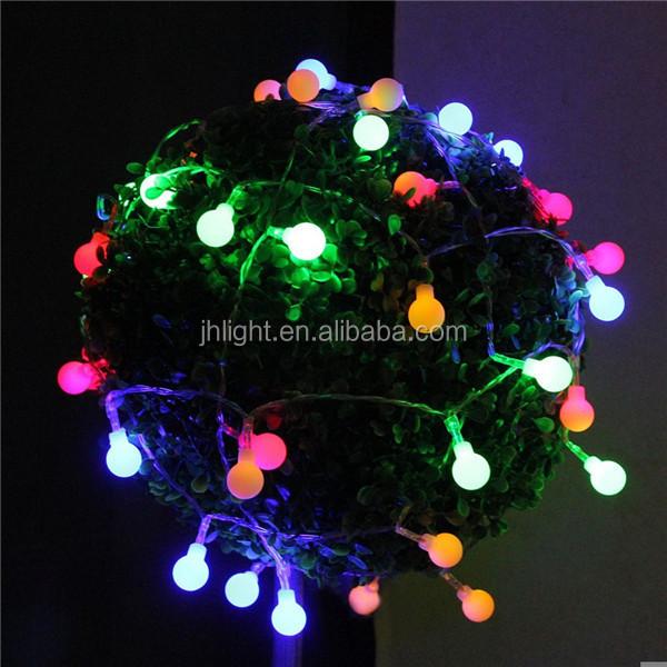 Garden Solar LED String Lights Outdoor Christmas Tree Fairy Mini Light Lamp
