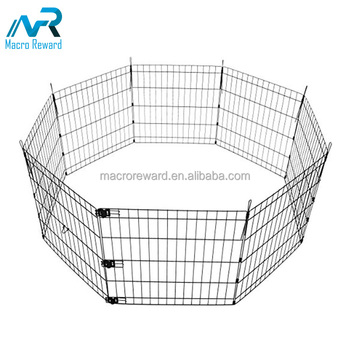 Easily assemble outdoor stainless steel welded wire mesh cattle fence panel