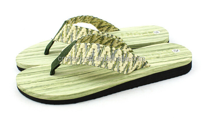 custom design mens beach flip flops