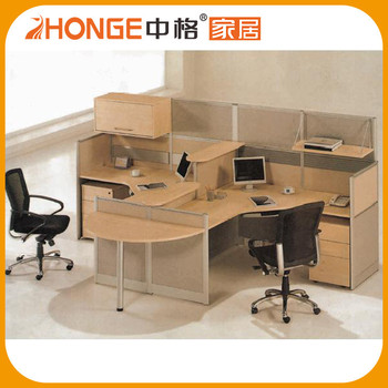 Modern Design Office Parion Chair 1000mm Two Person Workstation Product On