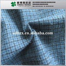china textile plaid 30%wool69%synthetic1%spandex for Men's shirts blended fabric