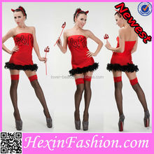donne wholesale rosso fantasia halloween dress costume