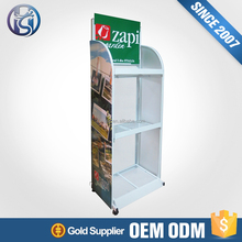 Wholesale Price Retail Floor Potato Chip Display Stand HS-ZS32