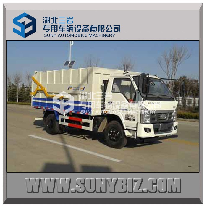 113HP Garbage dump truck/tipper/garbage truck for sale