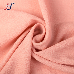 Wholesale 100% Polyester Thick Bubble Chiffon Fabric for Garment