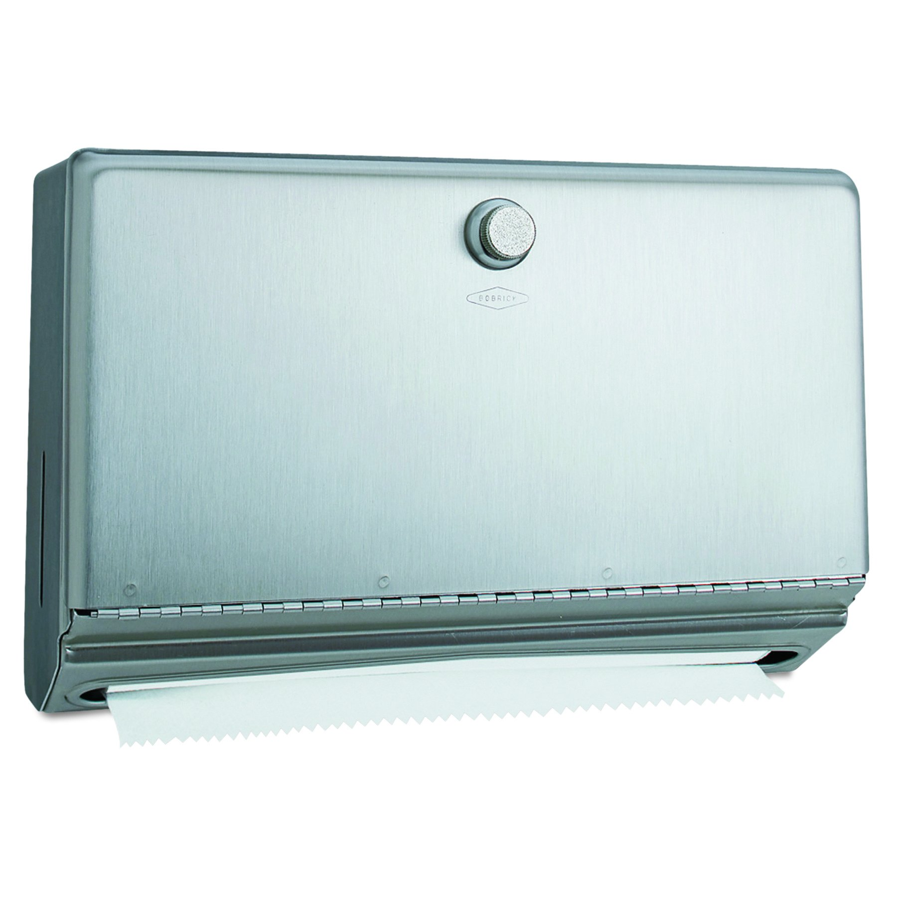 Bobrick B-2621 Classic Series Surface-Mounted Paper Towel Dispenser, Satin