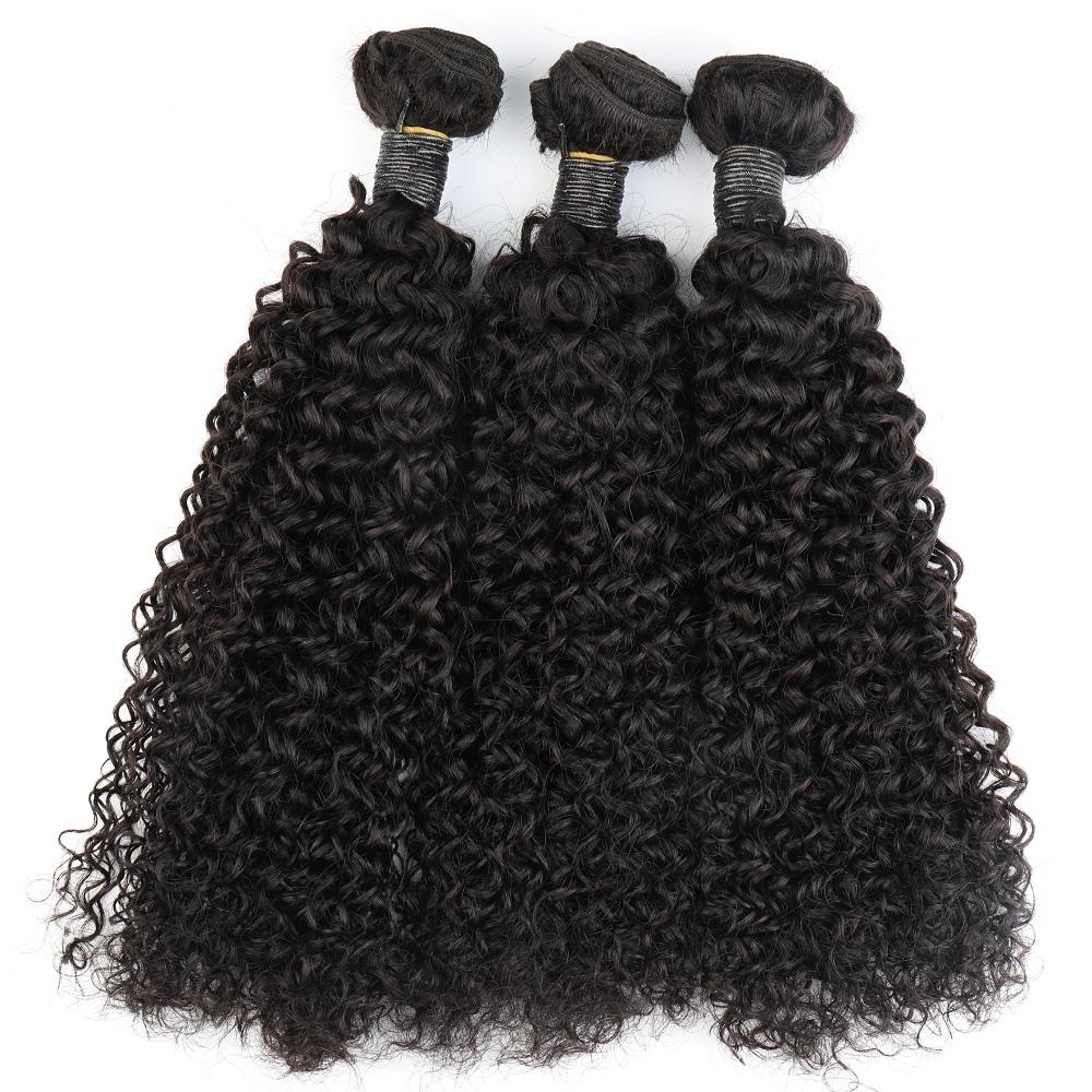Toocci Classic 3 IN 1 Mongolian Curl Hair Bundles Mongolian Kinky Curly Hair Weave For Black Woman фото