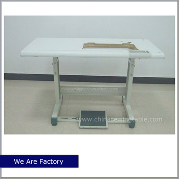Used Sewing Machine Table Stand Industrial JUKI