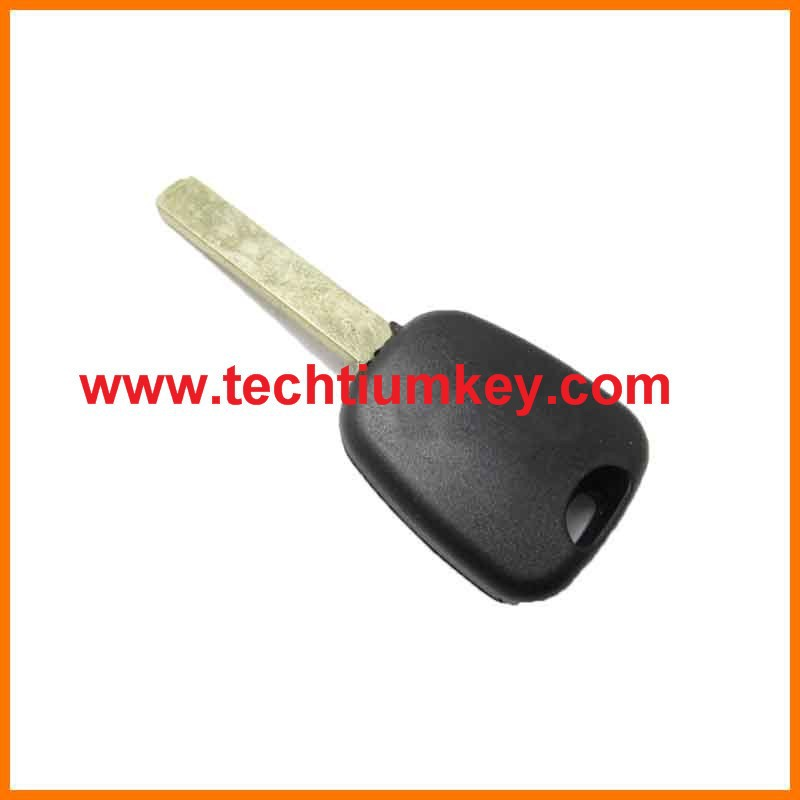 Transponder Key case shell for Citroen 307 with 307/VA2 blade(without groove on blade) transponder key (Dark Logo)