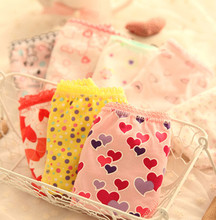 2014 children  girl underwear short panties brief flower panties baby kids  girl brief  underpants 100% cotton 12pcs/lot D1