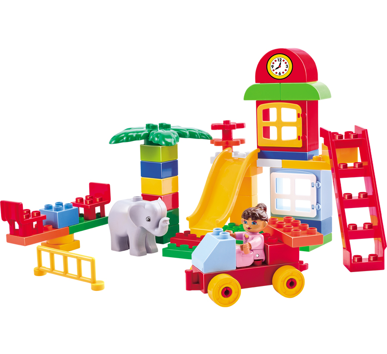 Latest Educational Toys : Hot sale latest educational children plastic building