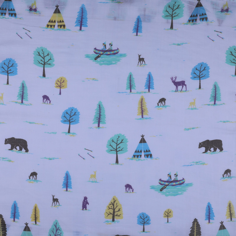 Professional design cotton printed fabric for children