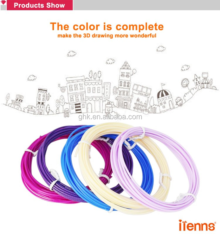 Hot sale 3D printer filament multi colors 1.75mm 2.85mm 3mm abs pla filament