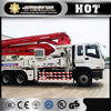 Portable concrete mixer and pump,50M XCMG Concrete Pump Truck price cheap