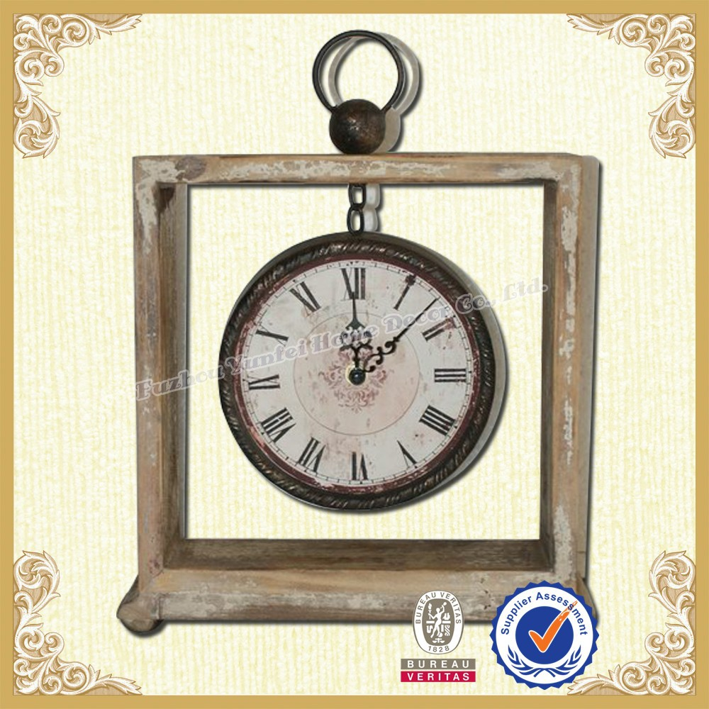 Home goods table clock ornamental