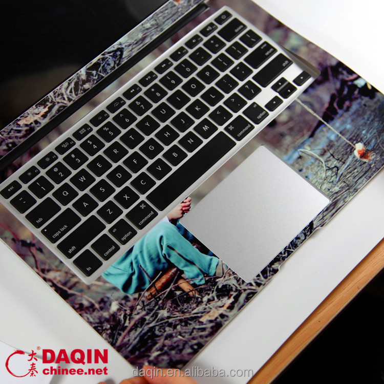 Custom full body skin software for designing macbook sticker decals
