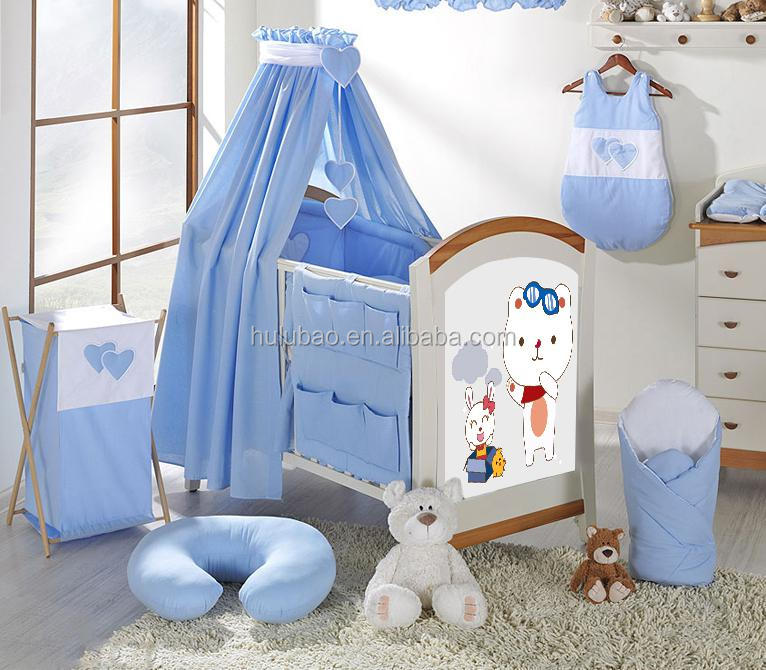 Fashion Panel Woo Baby Bed,Baby Cot,Baby Crib #1104a