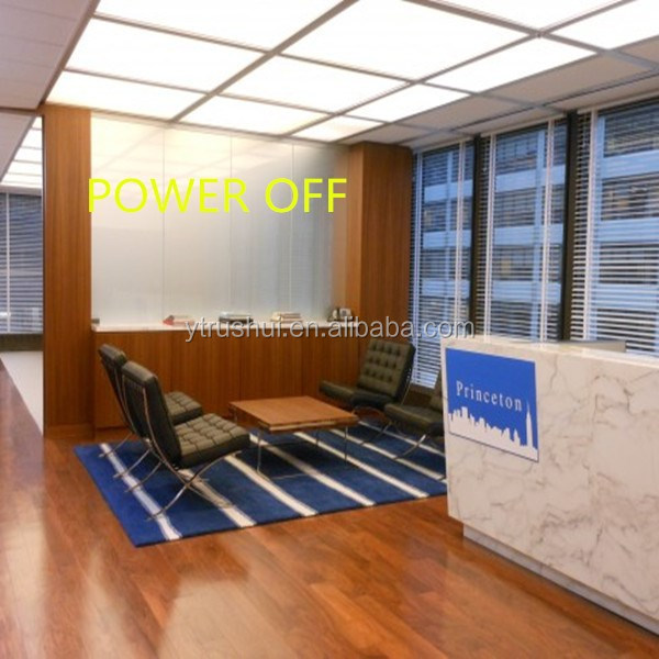 Enery Saving UV Protection Electric Control Switchable Smart Glass