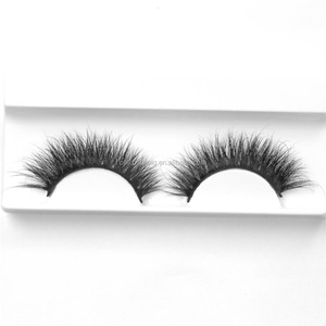 Wholesale Own Brand Fashion Luxury Mink Lash with Eyelash Packaging Box Glitter