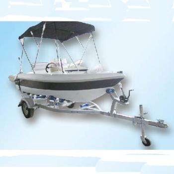 Waterwish Qd 12 Open Small Fiberglass Boat - Buy Small