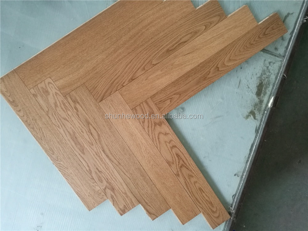 מודרניסטית ריצוף פרקט עץ עץ אלון כיתה בחר מוברש מחירים סיטונאיים זולים צבע EB-63