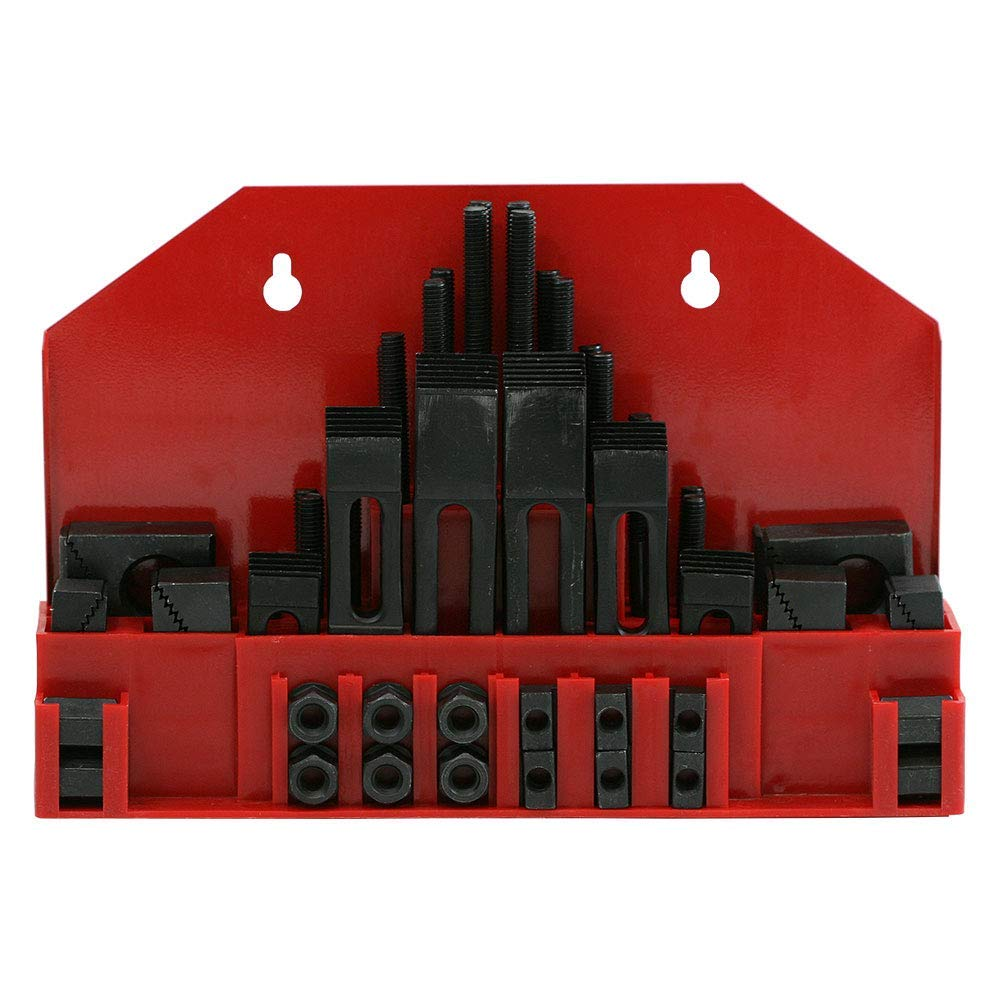 5//8-11 Thread CK-800 50 Piece Clamping Kit 13//16 Table Slot