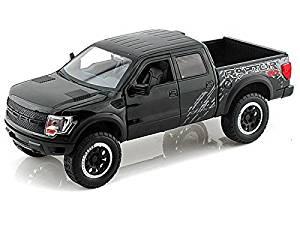 2011 Ford F150 SVT Raptor 1/24 Glossy Black, Model: , Toys & Play