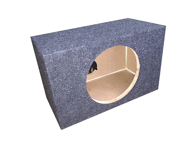 "Zenclosures 1-10"" JL Audio 10w3v3-4 / 10w3v3-2 / 10w3 Subwoofer box (CHARCOAL GREY)"