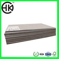 top price laminated grey chip board paper