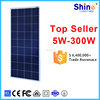 2016 poly solar module 150W poly solar module for home power system