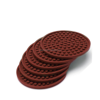 Hot Sell High Quality Cup Mats Custom BPA Free Silicone Cup Coaster