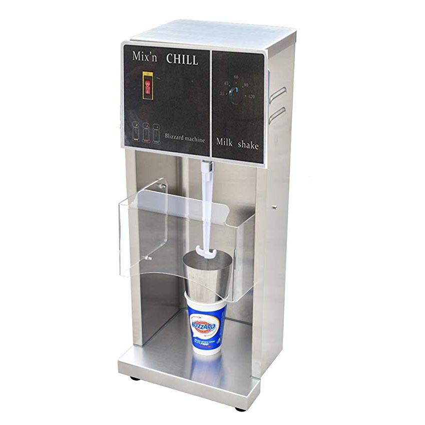 techtongda 110V 350w Commercial Electric Mcflurry Flurry Ice Cream Machine Maker Mixer Shaker Blender