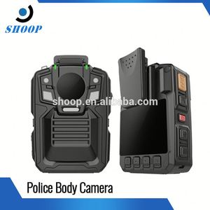 Body worn wearable live streaming in police office Computer and