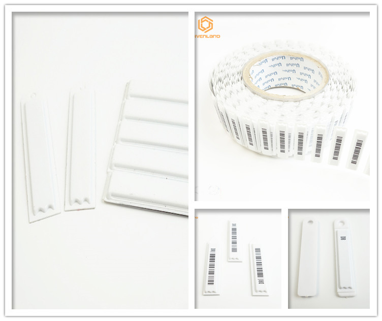 Индивидуальные Безопасности 82 МГц RF клей штрих-код косметический EAS Мягкая Этикетка
